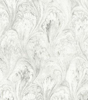 Premium Wide Cotton Fabric-White Oil Slick