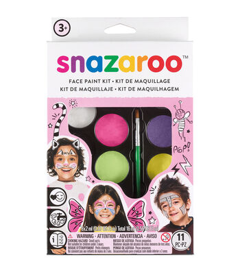 Snazaroo Face Painting Kit-Pink