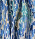 Kelly Ripa Home Upholstery Décor Fabric-Make It Rain Bluebell