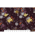 Keepsake Calico Cotton Fabric -Spaced Fall Floral