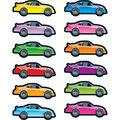 Carson Dellosa Race Car Shape Stickers 12 Packs