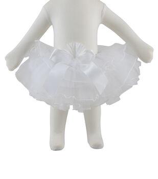 Maker's Halloween Toddler Tutu Costume-White
