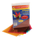 Cello Sheets 8.5\u0022X11\u0022 48/Pkg-6 Each Of 8 Colors