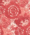Keepsake Calico Cotton Fabric -Scarlet Tie Dye