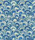 Home Decor 8\u0022x8\u0022 Swatch Fabric-Williamsburg Murray Marble Bluebell