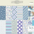 Authentique Double-Sided Cardstock Pad 12\u0022X12\u0022 18/Pkg-Frosted, 6 Designs