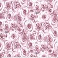 Premium Cotton Fabric-Packed Burgundy Roses