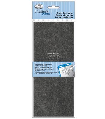 "Royal & Langnickel 18""x36"" Graphite Paper-Gray"