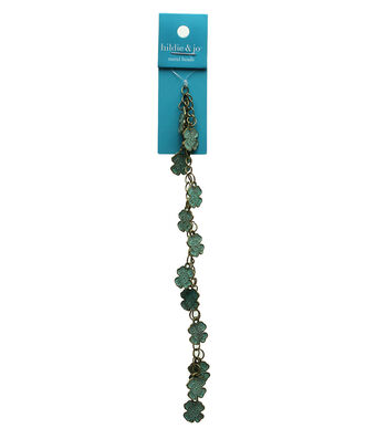 Hildie & Jo Tree Of Life Charms-Patina Four Leaf Clover