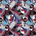 Marvel Spider-Man Fleece Fabric-Spidey City Badge