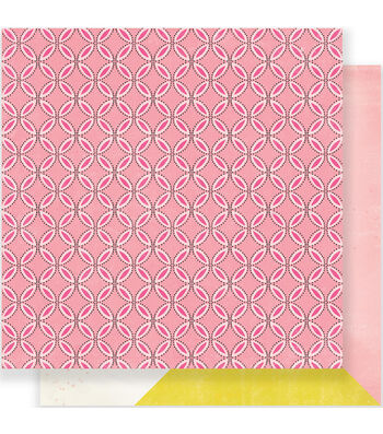 """Maggie Holmes Carousel Double-Sided Cardstock 12""""X12""""-Prize"""