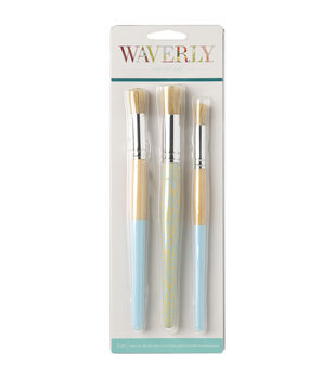 Waverly Stencil Brush Set 3pk