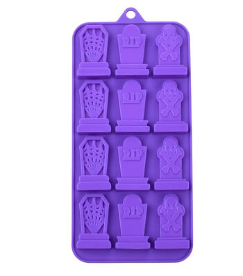 Halloween Silicone Candy Mold-Tombstones