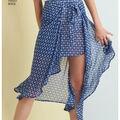 Simplicity Pattern 8343 Misses\u0027 Skirt & Shorts-Size R5 (14-16-18-20-22)