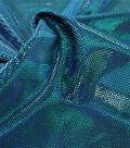 Performance Apparel Fabric 57\u0022-Turquoise Legacy Foil Velvet