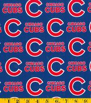 Chicago Cubs Cotton Fabric 58''-Logo, , hi-res