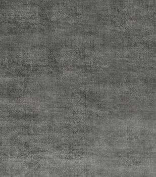 """Jaclyn Smith Upholstery Fabric 54""""-Theater Velvet/Graphite"""