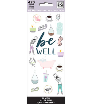 The Happy Planner Stickers-Be Well