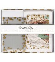 Teresa Collins Studio Gold Overlay Card Kit 10/Pkg, , hi-res
