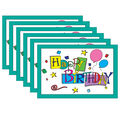 Happy Birthday Postcards, 4\u0022 x 6\u0022, 30 Per Pack, 6 Packs