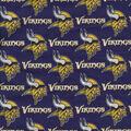 Minnesota Vikings Cotton Fabric -Mascot Logo
