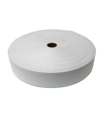 "Pellon 2 1/2"" x 50yd Roll Knit Elastic- White"