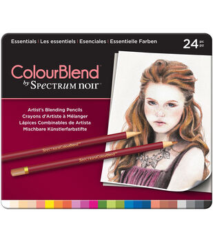Spectrum Noir ColorBlend Pencils 24/Pkg-Essentials