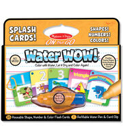 Melissa & Doug On The Go Water Wow! Splash Card-Shape/Number/Color, , hi-res
