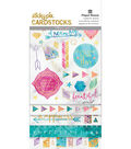Paper House Marbleous StickyPix Cardstock Stickers with Foil Accents