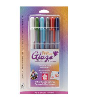 6Pk Glaze Pens