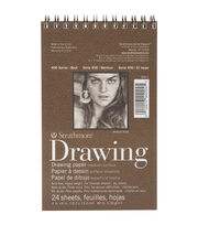 "Strathmore Drawing Medium Paper Pad 4""X6""-24 Sheets, , hi-res"
