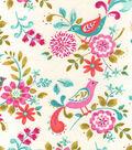 Snuggle Flannel Fabric -Madison Birds