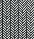 Quilter\u0027s Showcase Cotton Fabric -Linear Arrows on Black