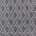 Anti-Pill Plush Fleece Fabric-Black & White