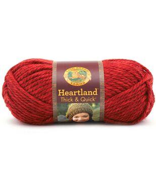Lion Brand Heartland Thick & Quick Yarn