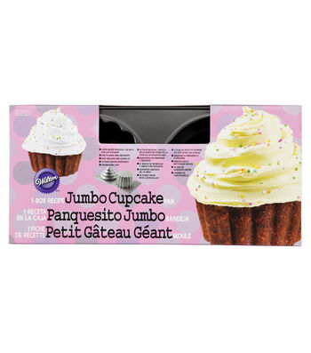 3D Giant Cupcake Pan-2 Cavity
