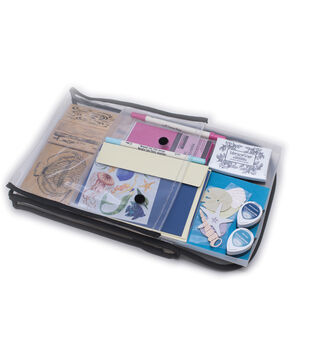 """Stamp, Store & Go Bag Double Sided 9""""X11.5""""X2"""""""