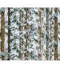 Christmas Cotton Fabric 44\u0022-Snowy Forest