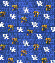 "University of Kentucky Wildcats Cotton Fabric 43""-Distressed, , hi-res"