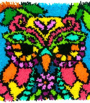 "Colorful Latch Hook Kit 16""X16""-Owl"