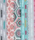Jelly Roll Cotton Fabric Pack 2.5\u0027\u0027x42\u0027\u0027-Coral