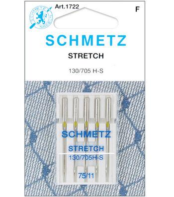 Schmetz Stretch Machine Needles 5/Pk-Size 11/75