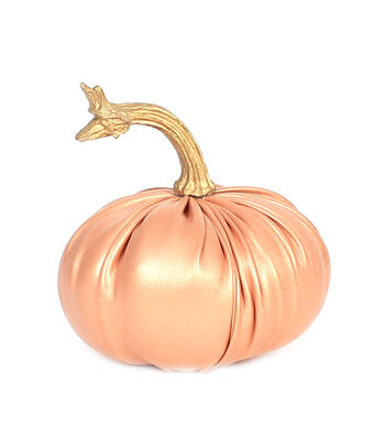 Simply Autumn Extra Small Leather Pumpkin-Rose Gold