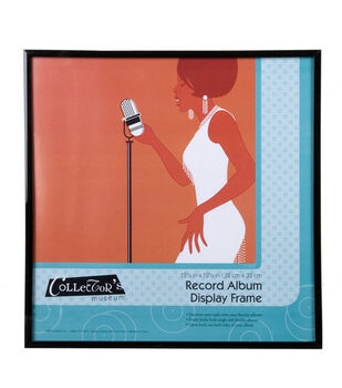 MCS Industries Collector's Museum Record Album Display Frame 12''x12''