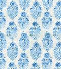 Home Decor 8\u0022x8\u0022 Swatch Fabric-IMAN Home Petite Batik Porcelain
