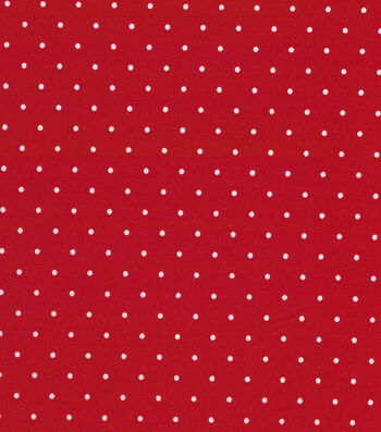 "Quilter's Showcase Cotton Fabric 44""-Red Dot"
