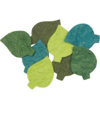 Feltworks Shapes-Leaves 8/Pkg
