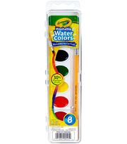 Crayola Washable Watercolors-8 Colors, , hi-res