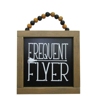 Maker's Halloween Mini Wall Decor-Frequent Flyer