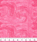 Wide Flannel Fabric -Pink Marble